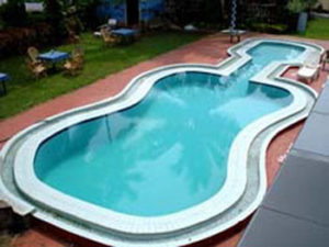 Use of Swimming Pool and Sun Beds of neighbouring Hotel for a fee of Rs. 150/- per person per day