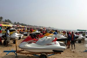 Water Sports at Baga Bbeach